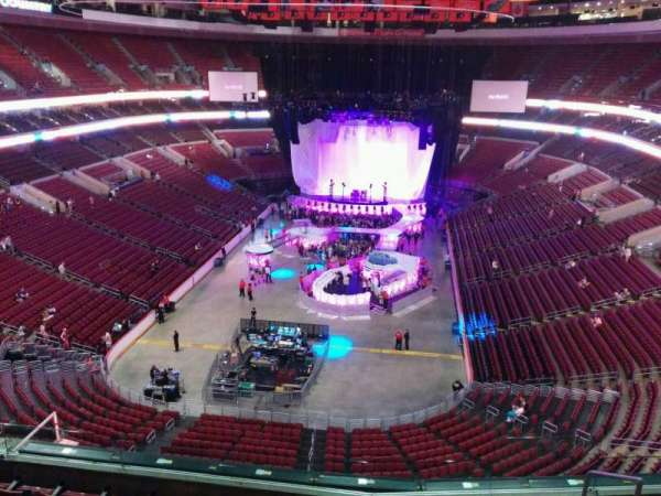 Wells Fargo Center, section: 207a, row: 7, seat: 13