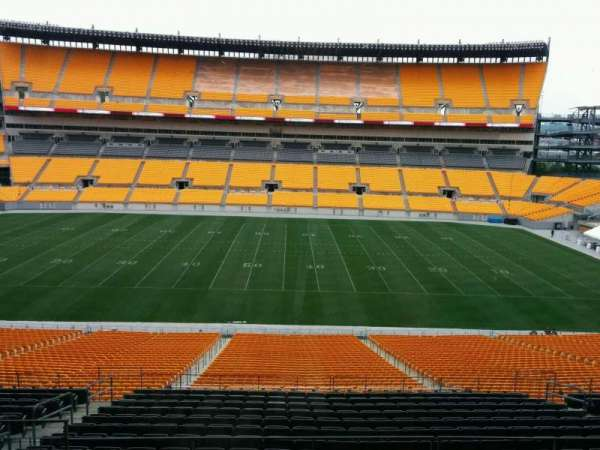 Heinz Field, section: 353, row: 1
