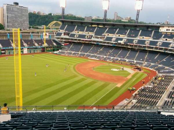 PNC Park, section: 333, row: R, seat: 17