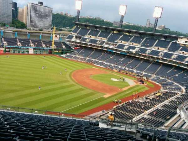 PNC Park, section: 332, row: V, seat: 5