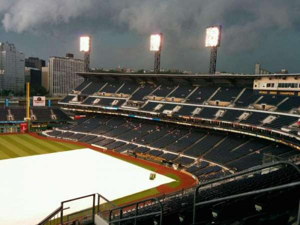 PNC Park, section: 327, row: Q, seat: 7