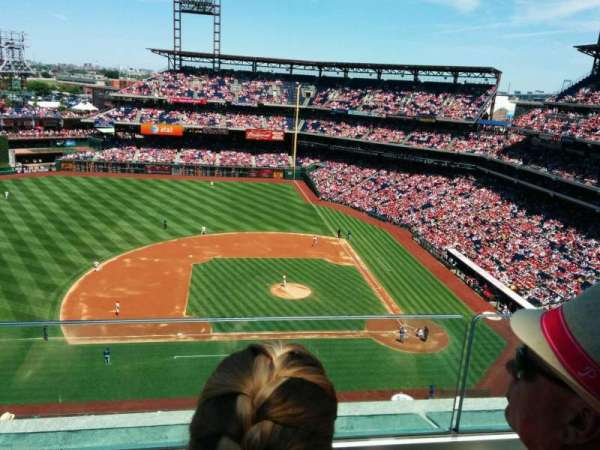 Citizens Bank Park, section: 426, row: 2, seat: 11