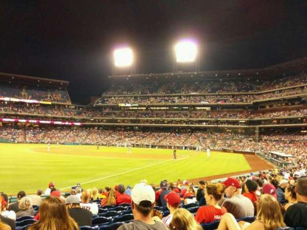 Citizens Bank Park, section: 139, row: 15, seat: 9