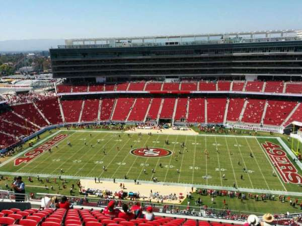Levi's Stadium, section: 410, row: 13, seat: 13