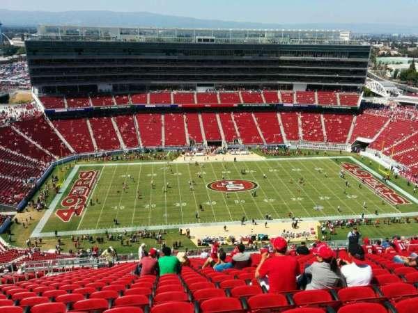 Levi's Stadium, section: 414, row: 26, seat: 20