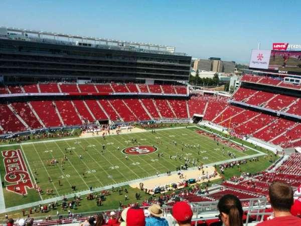 Levi's Stadium, section: 416, row: 13, seat: 7