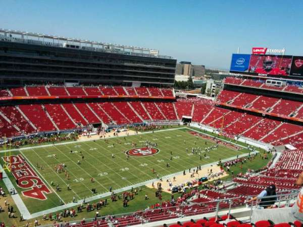 Levi's Stadium, section: 417, row: 9, seat: 13