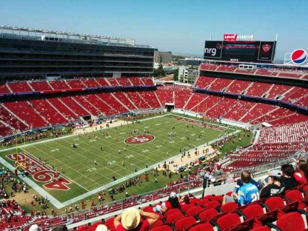 Levi's Stadium, section: 418, row: 11, seat: 15
