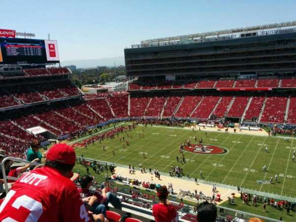 Levi's Stadium, section: 312, row: 5, seat: 17