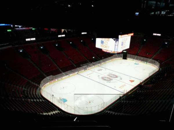 Centre Bell, section: 407, row: a, seat: 1