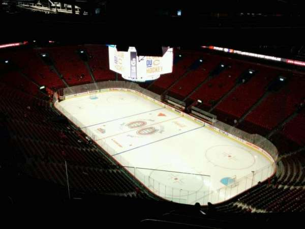 Centre Bell, section: 413, row: B, seat: 16