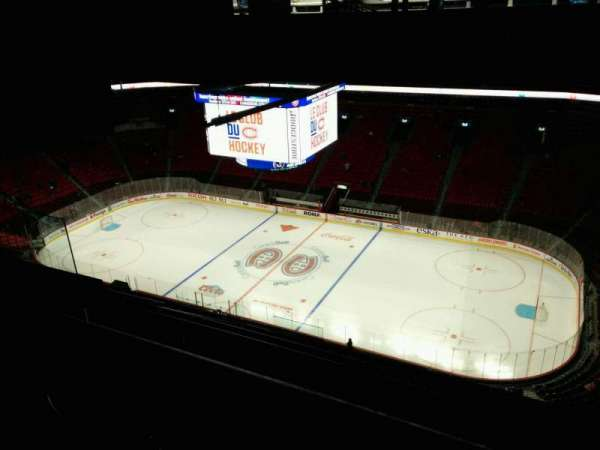 Centre Bell, section: 416, row: A, seat: 15
