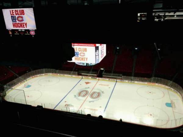 Centre Bell, section: 417, row: B, seat: 9