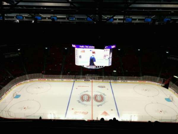 Centre Bell, section: 401, row: A, seat: 10