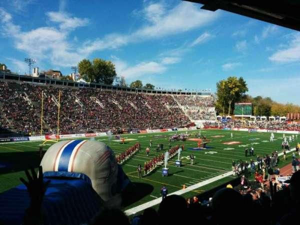 Percival Molson Memorial Stadium, section: Z1, row: 15, seat: 14