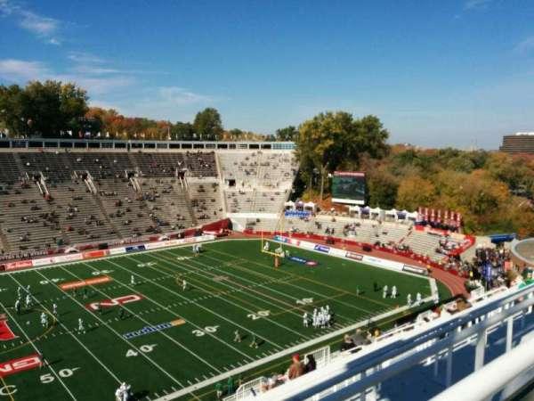 Percival Molson Memorial Stadium, section: u2, row: 22, seat: 4