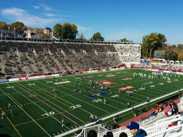 Percival Molson Memorial Stadium, section: y2, row: 12, seat: 8