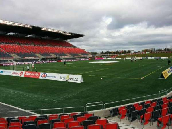 TD Place Stadium, section: Z, row: 11, seat: 5