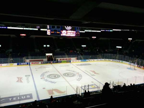 Colisée Pepsi, section: 213, row: E, seat: 12