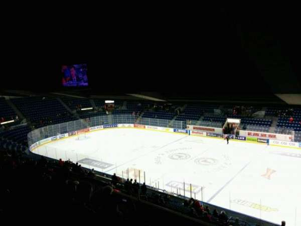 Colisée Pepsi, section: 207, row: G, seat: 9