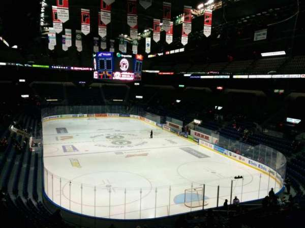 Colisée Pepsi, section: 203, row: C, seat: 17