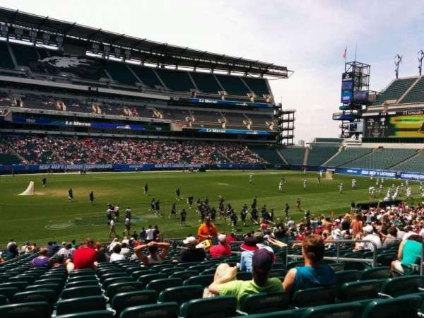 Lincoln Financial Field, section: 116, row: 28, seat: 8