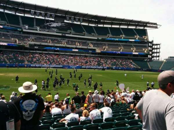 Lincoln Financial Field, section: 118, row: 18, seat: 15
