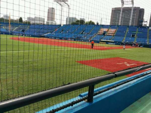 Jingu Stadium, section: 12, row: 6, seat: 168