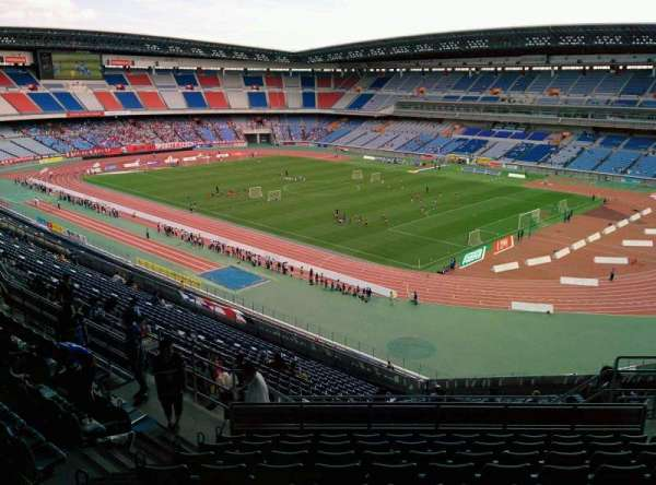 Nissan Stadium (Yokohama), section: S, row: 23, seat: 684
