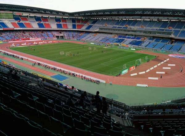 Nissan Stadium (Yokohama), section: S, row: 25, seat: 677
