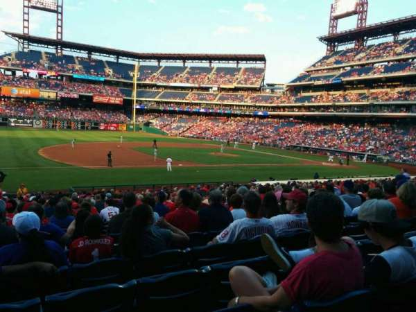 Citizens Bank Park, section: 133, row: 29, seat: 13