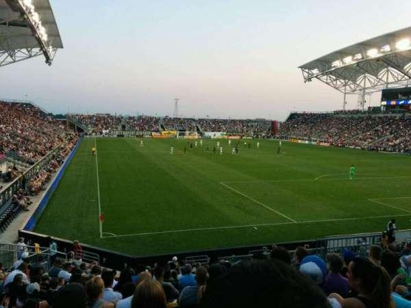 Talen Energy Stadium, section: 120, row: R, seat: 19