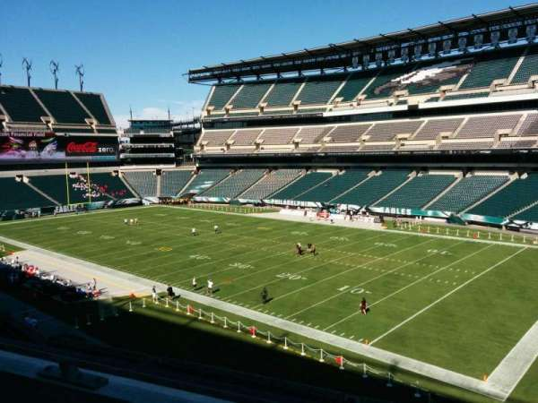 Lincoln Financial Field, section: c5, row: 2, seat: 17