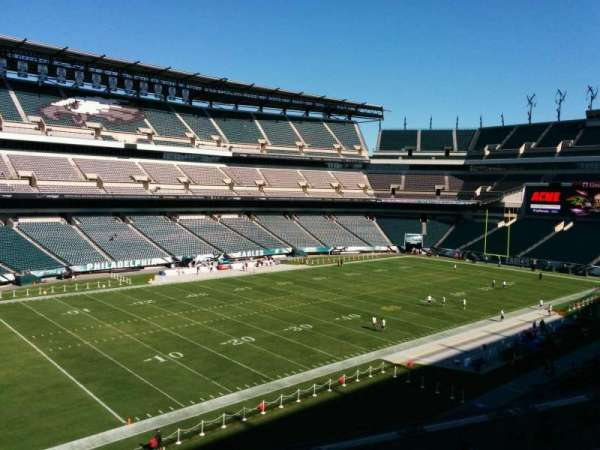 Lincoln Financial Field, section: C36, row: 5, seat: 19