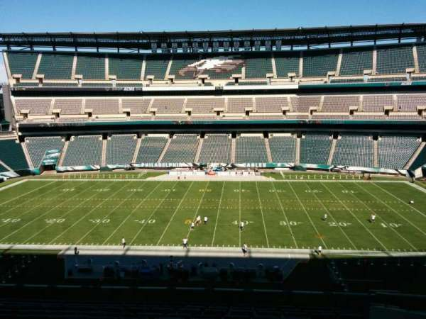 Lincoln Financial Field, section: c1, row: 17, seat: 8