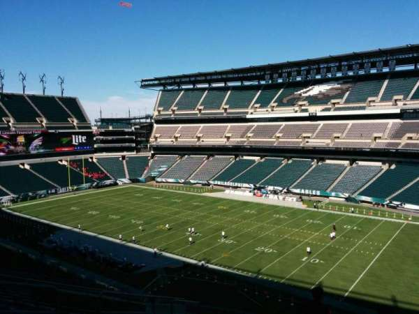 Lincoln Financial Field, section: c5, row: 18, seat: 16