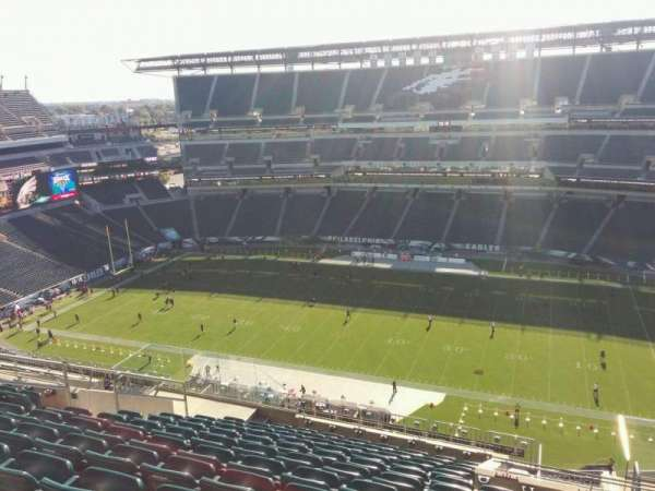 Lincoln Financial Field, section: 227, row: 16, seat: 11
