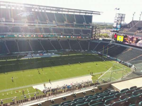 Lincoln Financial Field, section: 223, row: 10, seat: 10