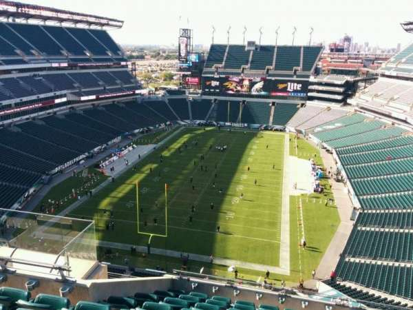 Lincoln Financial Field, section: 214, row: 13, seat: 11