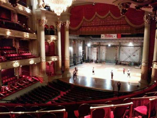 Academy of Music, section: balcony d, row: d, seat: 14