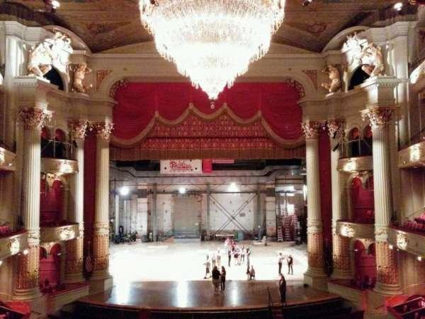 Academy of Music, section: balcony e, row: c, seat: 108