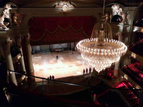 Academy of Music, section: Amphitheater F, row: d, seat: 9