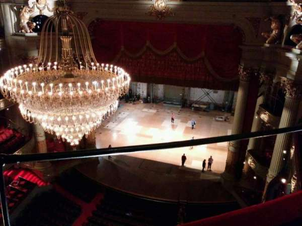 Academy of Music, section: Amphitheater D, row: b, seat: 10