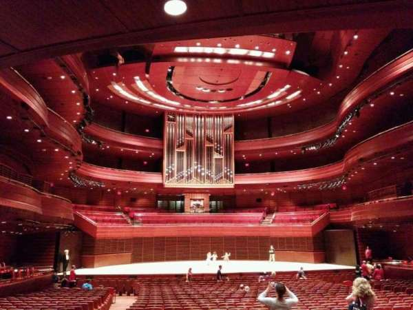 Verizon Hall at the Kimmel Center, section: Orchestra Tier, row: G, seat: 124