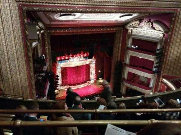 CIBC Theatre, section: balcony l, row: j, seat: 8