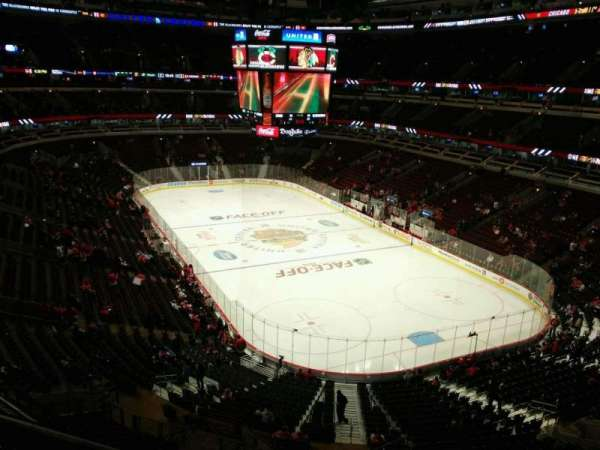 United Center, section: 312, row: 1, seat: 1