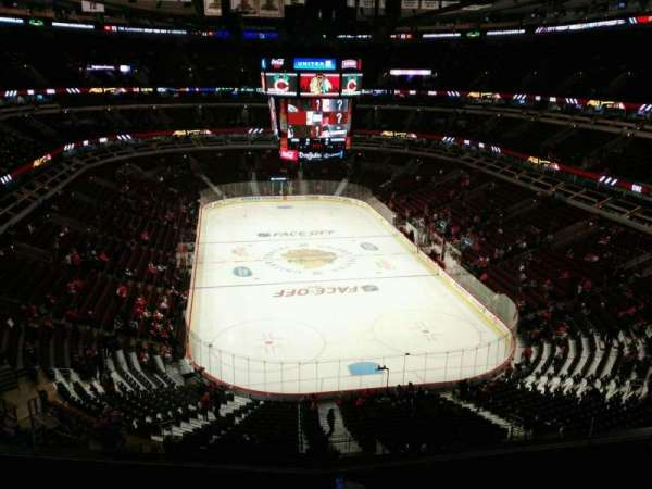 United Center, section: 310, row: 6, seat: 8