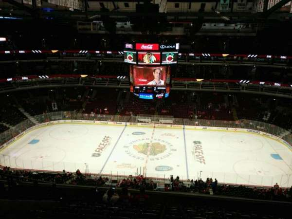 United Center, section: 334, row: 12, seat: 12