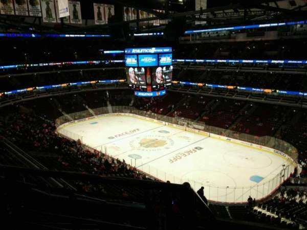 United Center, section: 330, row: 9, seat: 19
