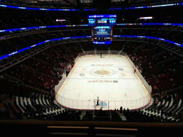 United Center, section: 326, row: 6, seat: 5